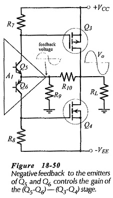 Common Source Amplifier Using an Op Amp Driver Stage