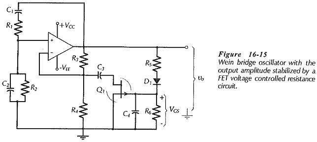 Oscillator Amplitude Stabilization Circuit