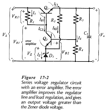 Transistor Series Regulator Circuit Diagram