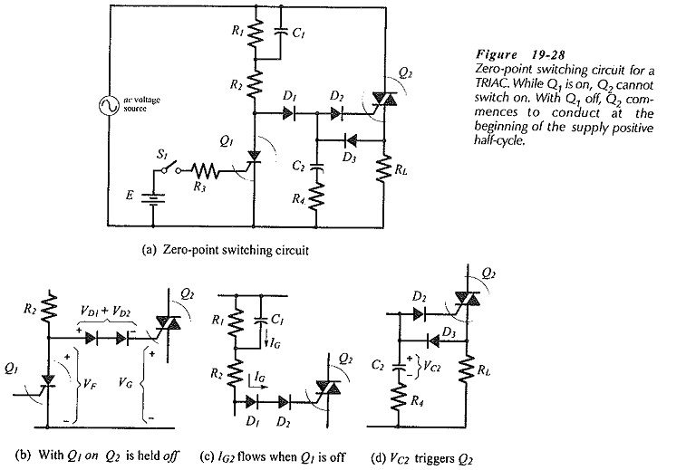 TRIAC Control Circuit Diagram