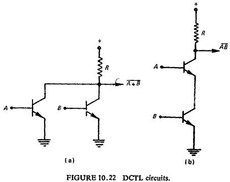 Logic Circuit in Static Relay