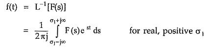 Definition of Laplace Transform
