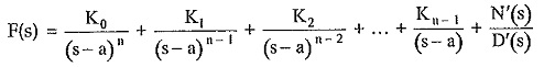 Inverse Laplace Transform