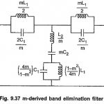 m Derived Band Stop Filter