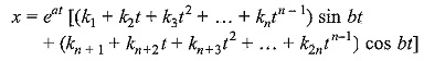 Homogeneous Linear Differential Equations