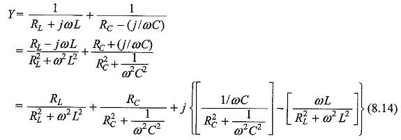 Parallel RLC Circuit Resonance