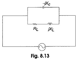 Resonant Frequency for a Tank Circuit