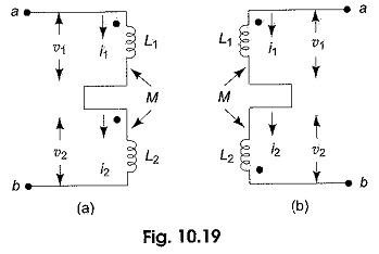 Series Connection of Coupled Inductors