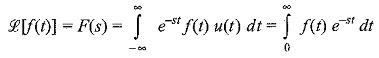 Definition of Laplace Transform