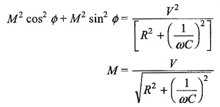 Sinusoidal Response of RC Circuit