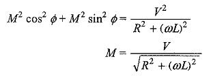 Sinusoidal Response of RL Circuit
